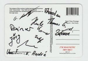 Coca Cola Be Refreshed 1996 Magnetic Postcard