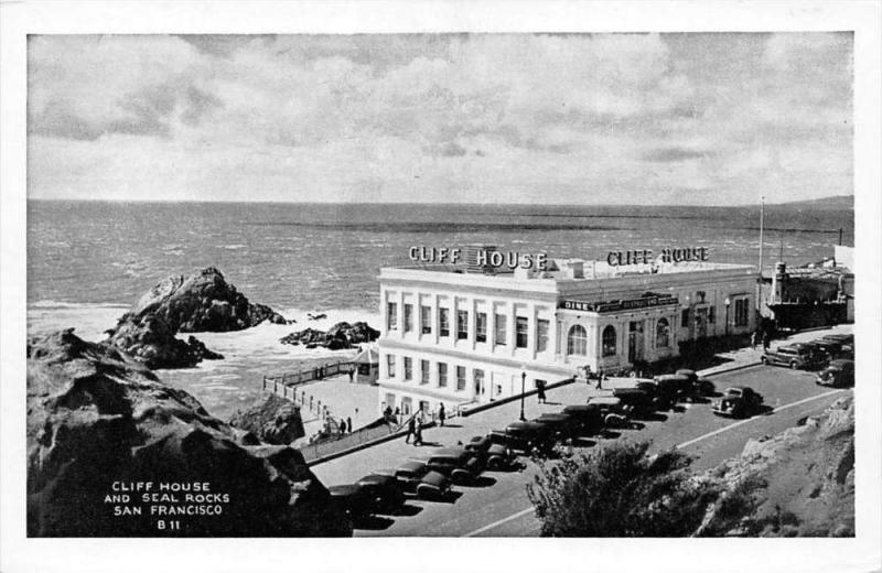 8538  CA San Francisco    Cliff House Restaurant  and Seal Rocks,