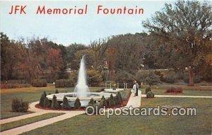 JFK Memorial Fountain Canton, OH, USA Unused