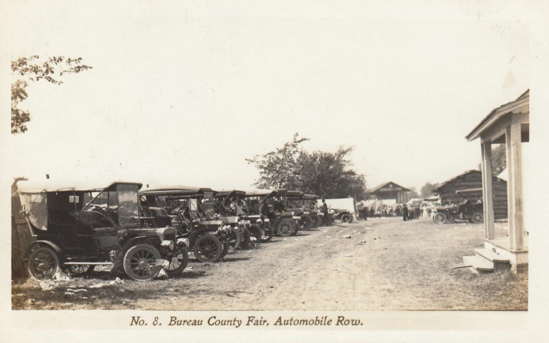 RP: PRINCETON , Illinois , 00-10s ; Bureau County Fair ; Automobile Row #2