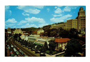 Arial View Army Navy Hospital Central Ave Hot Springs Arkansas Postcard #82012