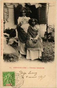 CPA DIEGO-SUAREZ Femmes Sakalaves MADAGASCAR (709481)