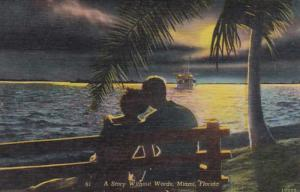 Florida Miami Romantic Couple A Story Without Words