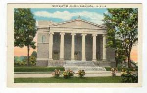 First Baptist Church, Burlington, North Carolina, PU-1938
