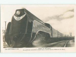 old rppc NICE VIEW Melbourne To Albury Australia i1803