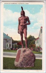 Statue of Massasoit, Plymouth MA