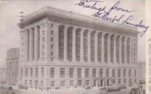 Illinois Chicago New Court House 1909