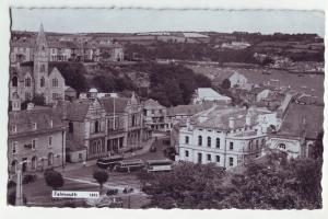 P1035 RPPC birds eye view falmouth england