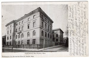 East Boston, Mass, High School