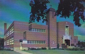 Minnesota Thief River Falls St Bernard's Catholic Church and School