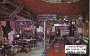Red Dog Saloon ~ Juneau Alaska AK ~ World Famous, Interior  Postcard