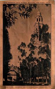 1915 Copper San Diego Science Building California Pacific Exposition Reynolds