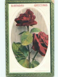 Divided-Back BEAUTIFUL FLOWERS SCENE Great Postcard AA3474