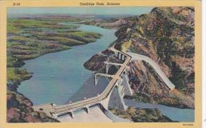 Arizona Coolidge Dam On U S 180 Curteich