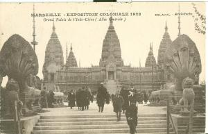 Marseille, Exposition Coloniale 1922 Grand Palais Indo-Chine