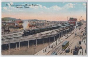 Trent Ave & Union Station, Spokane WA