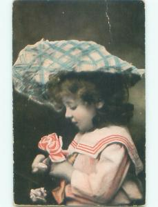 Divided-Back CHILDREN SCENE Great Postcard AA6320