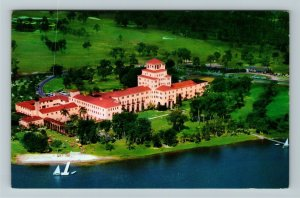 Sebring FL- Florida, Harder Hall, The Golfers First Resort, Chrome Postcard
