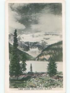old rppc NICE VIEW Lake Louise Alberta AB W0888