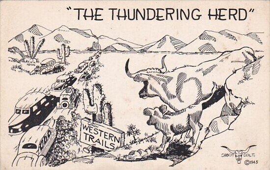 Humour The Thundering Herd Western Trails
