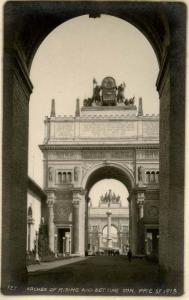 CA - San Francisco. Panama Pacific International Exposition, 1915. Arches of ...