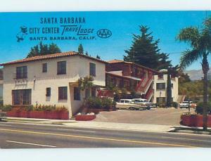 Unused Pre-1980 TRAVELODGE MOTEL Santa Barbara California CA c0171