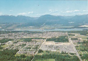 Canada Aerial View Surrey British Columbia