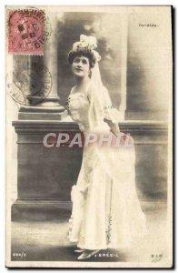 Old Postcard Fantaisie Varieties Brazil