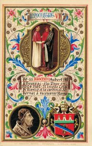 Religion The Vatican City Art Postcard Pope Innocent VI 06.18