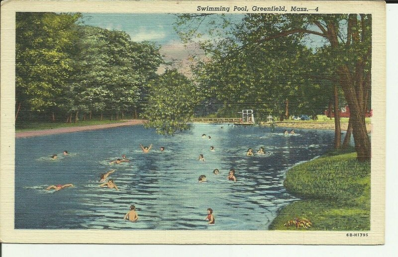 Greenfield,Mass. Swimming Pool