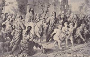 Triumphal Entry, Jesus, 1900-1910s