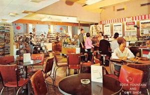 Bushkill Pennsylvania Fernwoods Gift Shop Interior Vintage Postcard K96169
