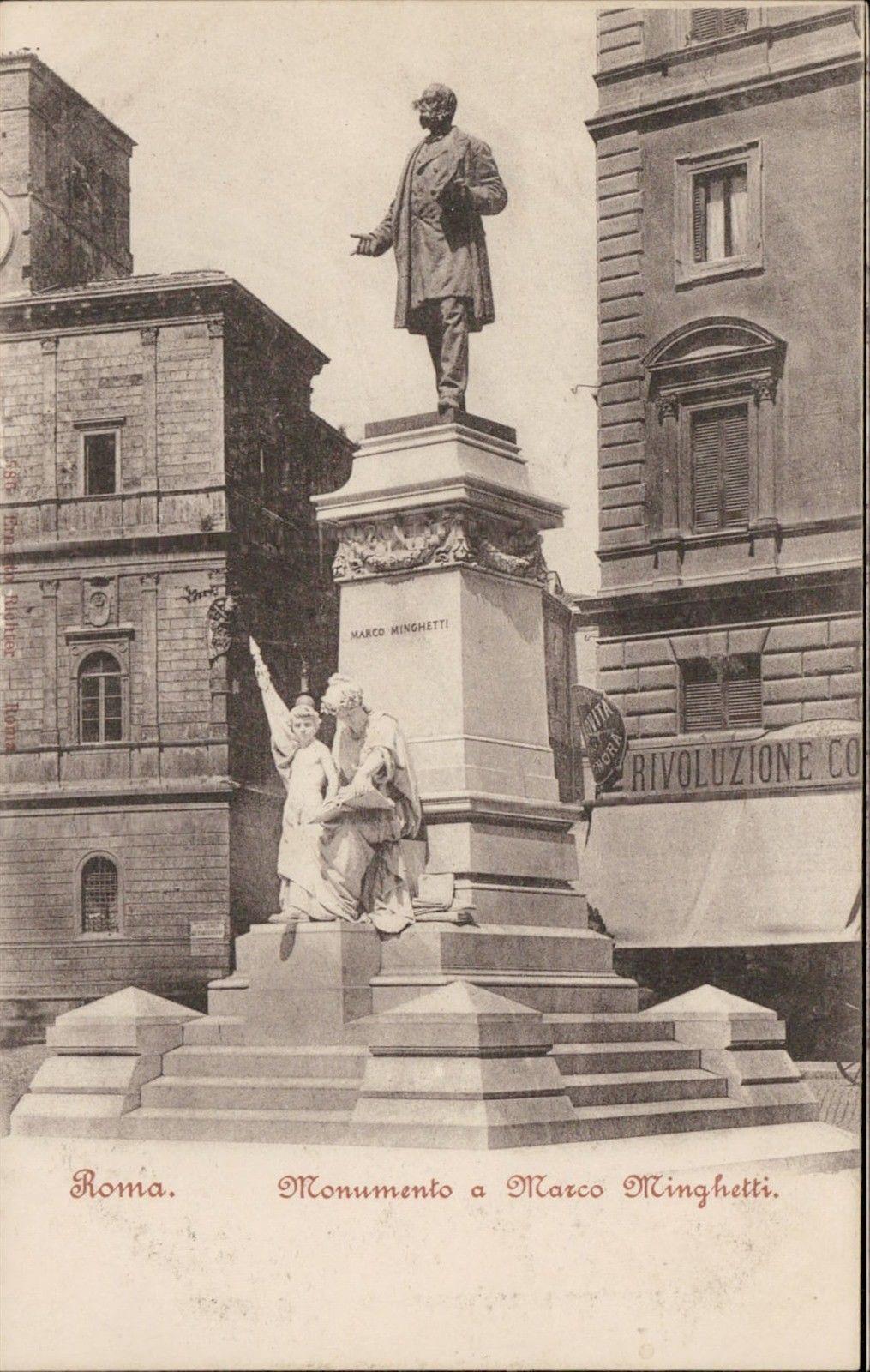 Roma Monumento a Marco Minghetti / HipPostcard