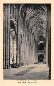 Canterbury Cathedral The Nave Looking East