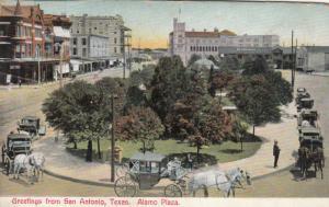 SAN ANTONIO , Texas , 1901-07 ; Alamo Plaza