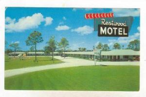 Restwood Motel, Federal Highway 301, Sarasota, Florida, 1940-1960s