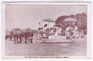 South Sudbury, Mass, The Old 5 - Seater Buckboard