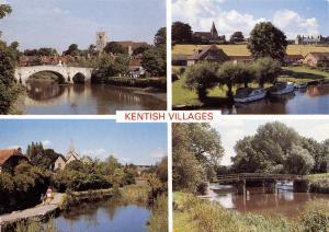Postcard Kentish Villages, Multi View, Kent by Judges Ltd L98