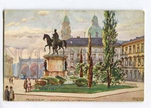 258076 GERMANY Richard WAGNER MUNCHEN Odeonsplatz Konig Ludwig
