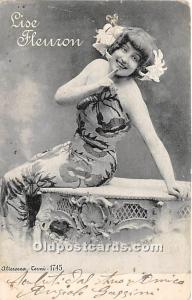Lise Fleuron Theater Actor / Actress 1904