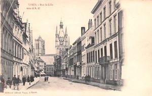 Ypres Belgium, Belgique, Belgie, Belgien Rue de Lille Ypres Rue de Lille