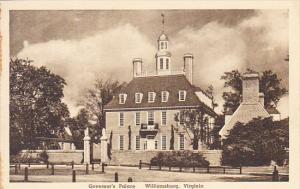 Governor's Palace Williamsburg Virginia Albertype