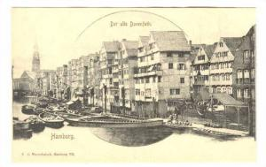 Hamburg , Der alte Dovenfleth , Germany , 1890s