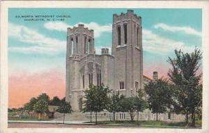 North Carolina Charlotte Dilworth Methodist Church 1934