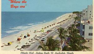 FL - Fort Lauderdale, Atlantic Blvd. looking south
