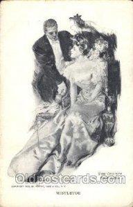 Artist Signed Howard Chandler Christy, Mistletoe 1907