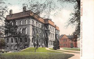 Rochester NY Some Ivy on Anderson Hall on Knoll~Reynolds Laboratory Behind c1906