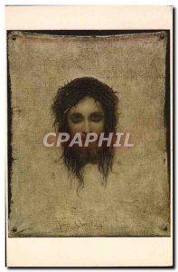 Old Postcard Jesus Christus G Max Paris Louvre Museum