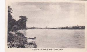 Ohio Perryburg Maumee River View At Perrysburg Albertype