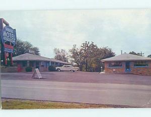 Unused Pre-1980 MOTEL SCENE Nashville Tennessee TN G7096